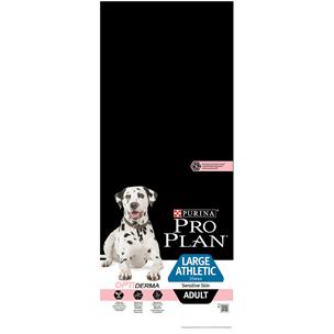PURINA PRO PLAN LARGE ATHLETIC ADULT OPTIDERMA COM SALMÃO 14KG