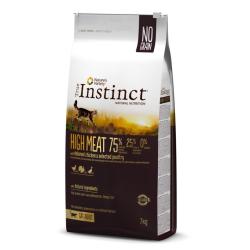True Instinct HIGH MEAT contribui para uma dieta altamente proteica, completa e equilibrada. Com carne de frango fresco desossad