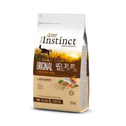 True Instinct ORIGINAL é elaborado ao vapor com uma combinação única de ingredientes naturais completa, equilibrada e baixa em g