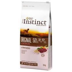 True Instinct ORIGINAL é elaborado ao vapor com uma combinação única de ingredientes naturais, completa e equilibrada. Contém bo