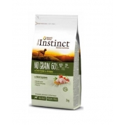 INSTINCT DOG NO GRAIN MEDIUM ADULT CHICKEN 2KG