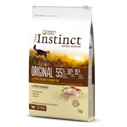 True Instinct ORIGINAL é elaborado ao vapor com uma combinação única de ingredientes naturais, completa e equilibrada. Contém fr