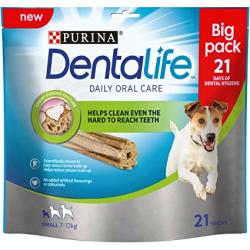 Os especialistas Purina desenvolveram Purina DentaLife, um inovador snack dentário que está comprovado cientificamente que ajuda