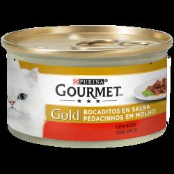 Sauves pedaços com ingredientes selecionados e cozinhados num perfeito e delicioso molho, para um rico e extraordinário sabor.