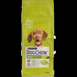 DOG CHOW Adult é um alimento completo para cães adultos que satisfaz os seus níveis de energia, mantendo-os em forma e prontos p