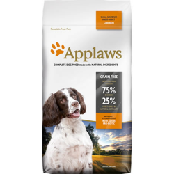 APPLAWS DOG DRY ADULT SMALL/MEDIUM CHICKEN 15KG