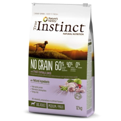 INSTINCT DOG NO GRAIN MEDIUM ADULT TURKEY 12KG