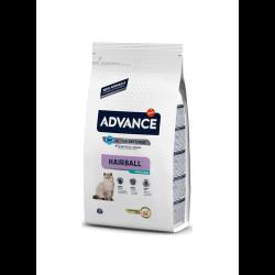 Para gatos adultos esterilisados, com prevenção das bolas de pêlo.