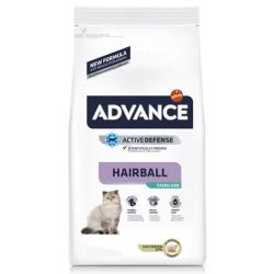 Para gatos adultos esterilisados, com prevençãpo das bolas de pêlo.