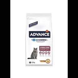 Alimento de gama alta indicado para gatos esterilizados com mais de 10 anos. Ajuda a prevenir a obesidade em gatos esterilizados